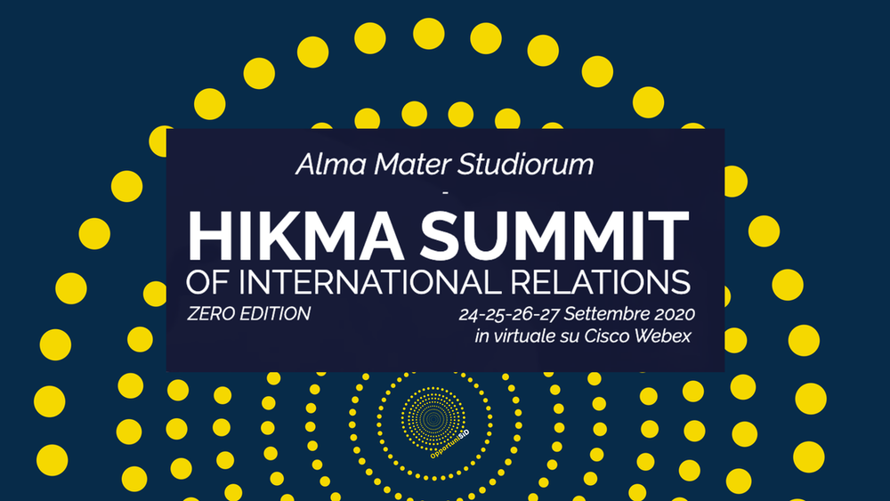 OpportuniSID partecipa all'Hikma Summit of International Relations
