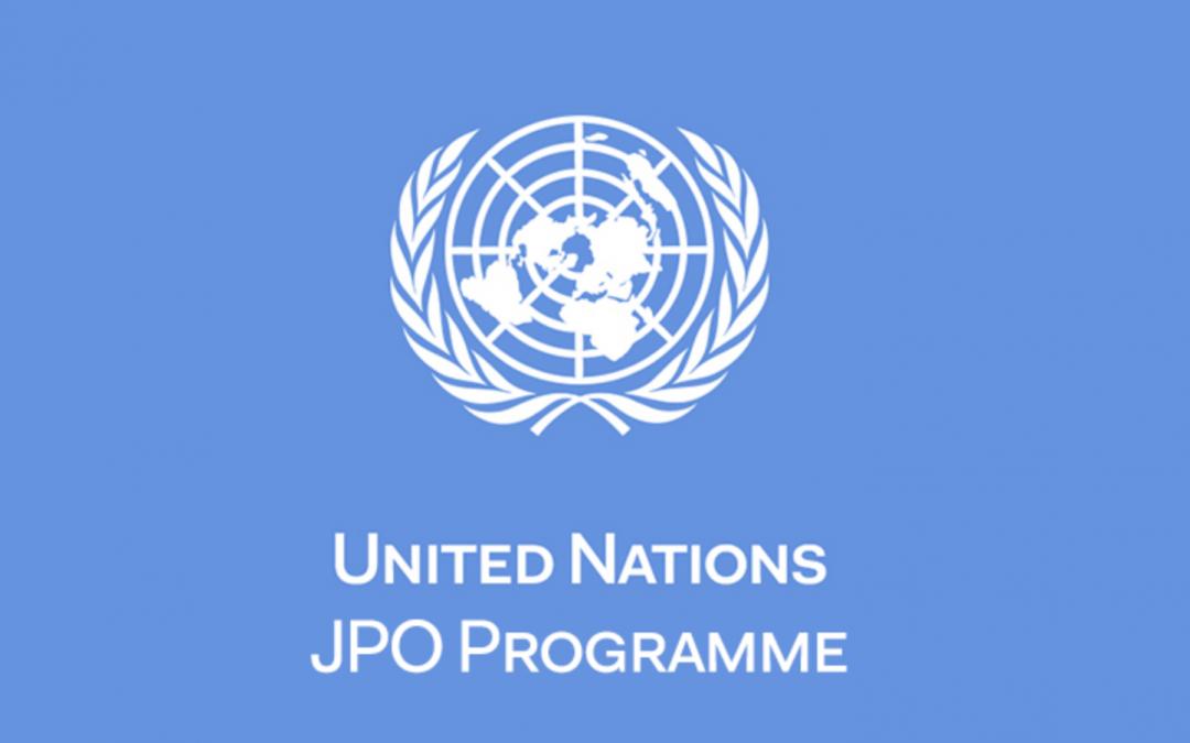Programma Giovani Funzionari delle Organizzazioni Internazionali (JPO) – Edizione 2020-2021
